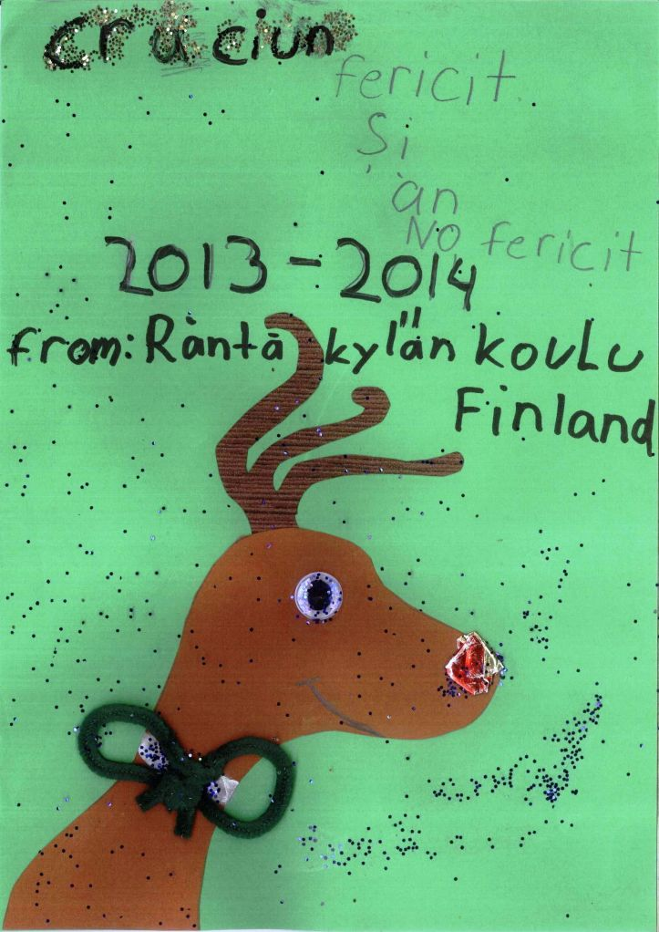 Christmas Card from Finland