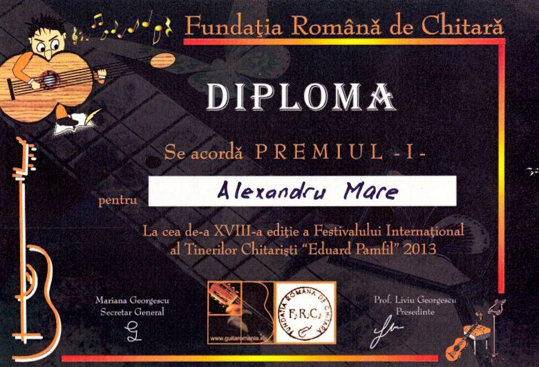 premiul I 2013