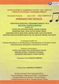 Afis Remember Enescu Cluj 2014 001