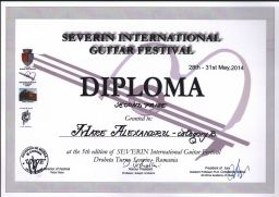 Premiul II ctg B